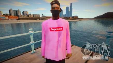 Fashionista FAM3 pour GTA San Andreas