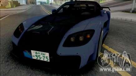 Mazda RX-7 VeilSide Fortune Blue pour GTA San Andreas