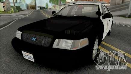 Ford Crown Victoria 2011 CVPI LAPD GND v2 pour GTA San Andreas