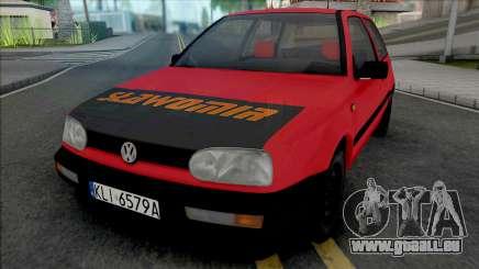 Volkswagen Golf III Slawomir pour GTA San Andreas