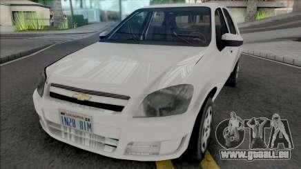 Chevrolet Celta 2010 [VehFuncs] pour GTA San Andreas