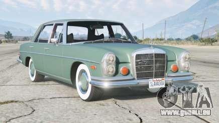 Mercedes-Benz 300 SEL 6.3 (W109) 1972 v1.1 pour GTA 5