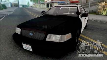 Ford Crown Victoria 2000 CVPI LAPD für GTA San Andreas