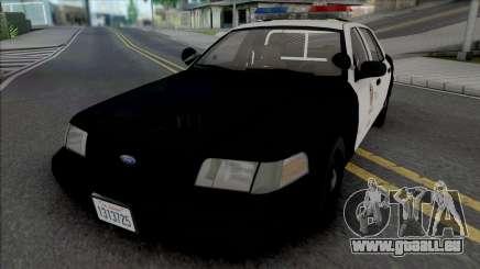 Ford Crown Victoria 1999 CVPI LAPD für GTA San Andreas