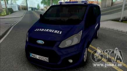 Ford Transit Lite Jandarmeria Romana für GTA San Andreas