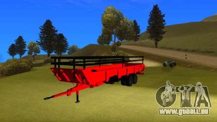 Remorque de ferme punjabi V2 par harinder mods pour GTA San Andreas