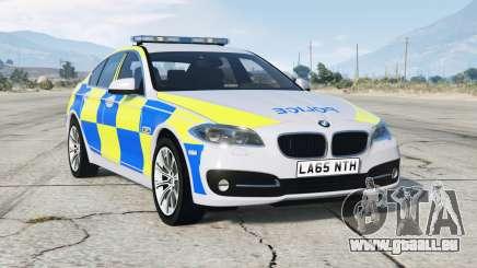 BMW 530d (F10) 2013 〡British Police pour GTA 5