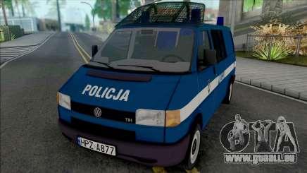 Volkswagen Transporter (T4) Policja KSP pour GTA San Andreas