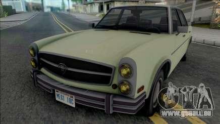 GTA V Benefactor Glendale [IVF] pour GTA San Andreas