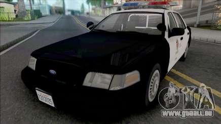 Ford Crown Victoria 1999 CVPI LAPD v2 für GTA San Andreas