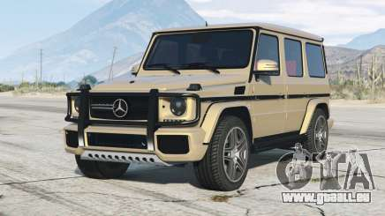 Mercedes-Benz G 65 AMG (W463) 2012〡add-on pour GTA 5