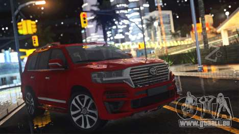 Toyota Land Cruiser 200 HQ pour GTA San Andreas