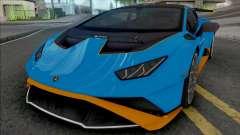 Lamborghini Huracan STO 2021 [HQ] pour GTA San Andreas