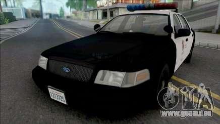 Ford Crown Victoria 2000 CVPI LAPD PMF pour GTA San Andreas