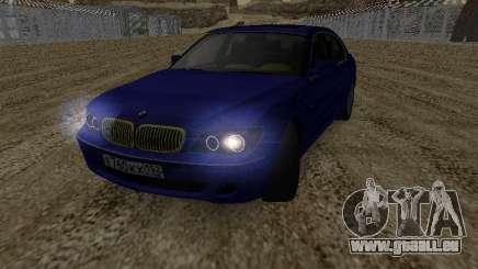 BMW 760LI EKH152RUS für GTA San Andreas