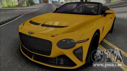 Bentley Mulliner Bacalar [HQ] für GTA San Andreas