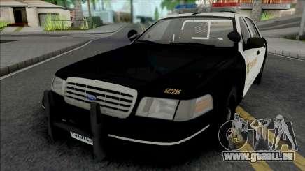 Ford Crown Victoria 1998 CVPI LACSD pour GTA San Andreas