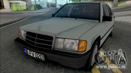 Mercedes-Benz 190E W201 1984 pour GTA San Andreas