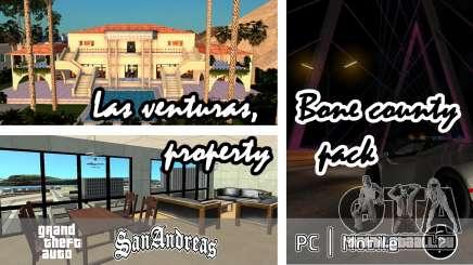 Las venturas, Bone County Property Pack für GTA San Andreas