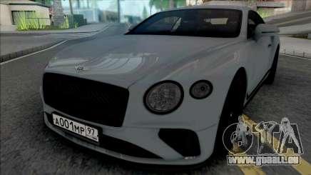 Bentley Continental GT 2021 für GTA San Andreas