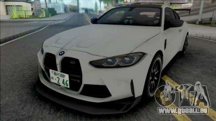 BMW M4 Competition 2021 Tuned für GTA San Andreas