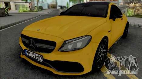 Mercedes-Benz C63 S AMG 2020 pour GTA San Andreas