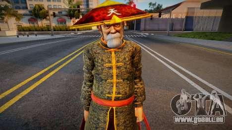Dead Or Alive 5 - Gen Fu (Costume 2) 1 pour GTA San Andreas