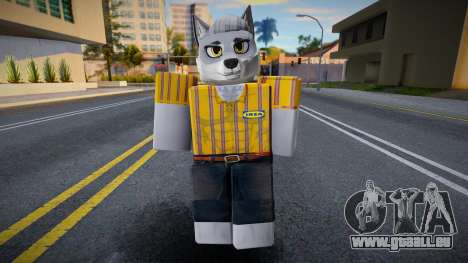 Roblox IKEA Work Wolf pour GTA San Andreas