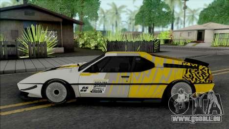 BMW M1 SpeedHunters für GTA San Andreas