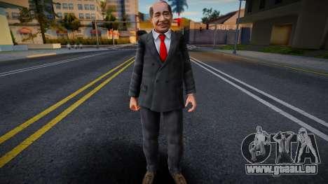 Dead Or Alive 5 - Train Man 3 pour GTA San Andreas