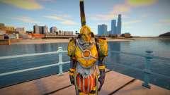 Grunt (Golden Armor) God of War 3 pour GTA San Andreas