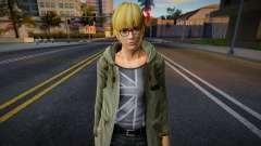 Dead Or Alive 5 - Eliot (Costume 2) 5 pour GTA San Andreas