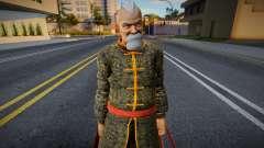 Dead Or Alive 5 - Gen Fu (Costume 2) 2 pour GTA San Andreas