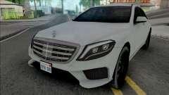 Mercedes-Benz S-Class AMG 2014 Lowpoly für GTA San Andreas