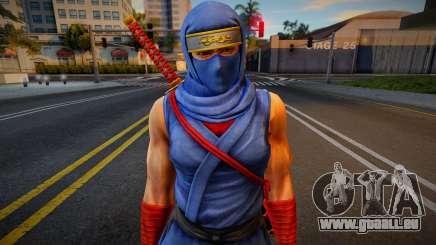 Dead Or Alive 5 - Ryu Hayabusa (Costume 2) für GTA San Andreas