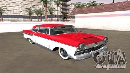 Ford Custom 1956 Coupé (Smith Custom Mafia II) für GTA San Andreas