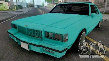 Chevrolet Caprice 1987 (2 Doors) pour GTA San Andreas