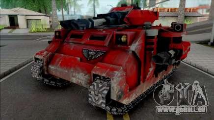 Blood Angels Predator Annihilator für GTA San Andreas