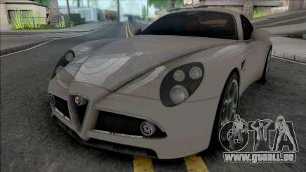 Alfa Romeo 8C Competizione 2007 SA Style pour GTA San Andreas