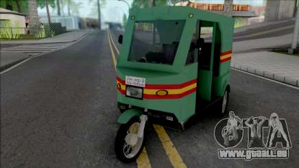 Honda CD80 Mishuk Rickshaw [IVF] pour GTA San Andreas