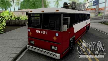 Fire Bus für GTA San Andreas