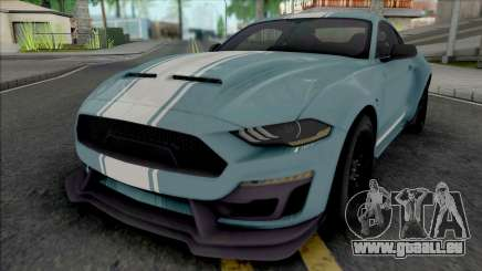 Ford Mustang Shelby Super Snake 2019 [HQ] für GTA San Andreas