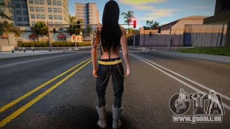 Monki skin 3 pour GTA San Andreas