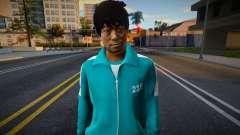 Male Random Tracksuit 218 Squid Game pour GTA San Andreas