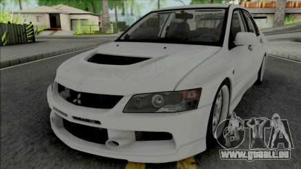 Mitsubishi Lancer Evolution IX MR Edition 2006 für GTA San Andreas