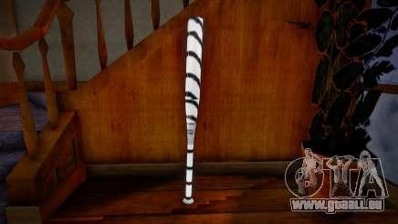 White baseball bat pour GTA San Andreas