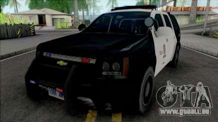 Chevrolet Tahoe 2008 LAPD für GTA San Andreas