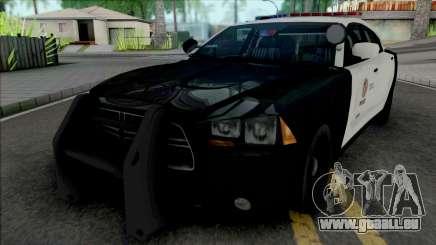 Dodge Charger 2013 LAPD für GTA San Andreas