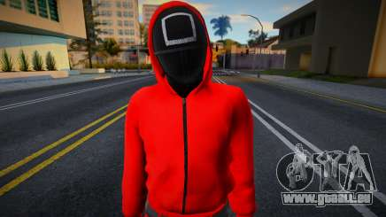 Male Random Guard N3 Squid Game pour GTA San Andreas